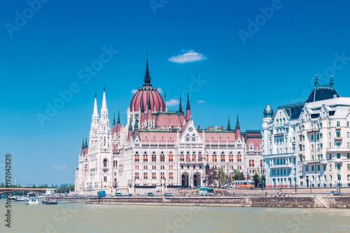 Foto op Canvas Boedapest Budapest parliament building