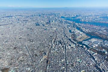 東京・空撮