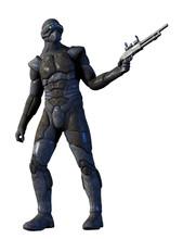 Future Warrior  Weapon Sticker