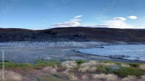 Fotobehang Zomer laguna patagonia