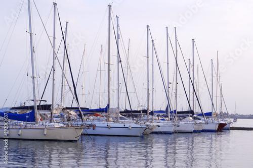 Aluminium Zeilen Mooring of Sailboats