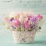 Pastel colored flower - 192064411