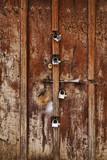 The famous Zanzibar doors in Stone Town, Tanzania - 192066602