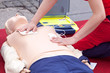 CPR course using automated external defibrillator device - AED - 192068626