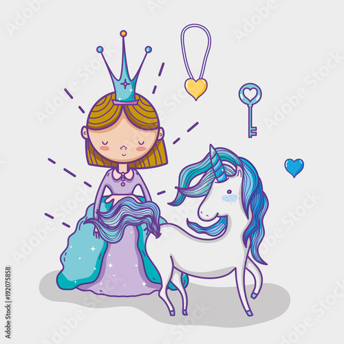 little-princess-cute-hand-drawing-cartoon