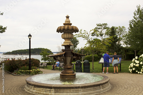 Fountain Acadia National Park