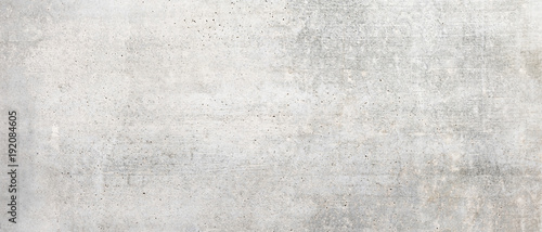 Texture of old white concrete wall for background - 192084605