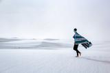 Walking in White Sands - 192086017