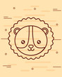 cute lion icon image