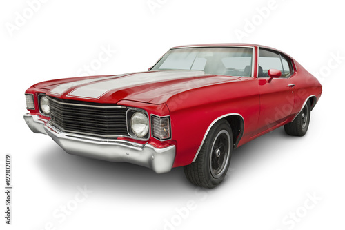 rojo-1970-muscle-car