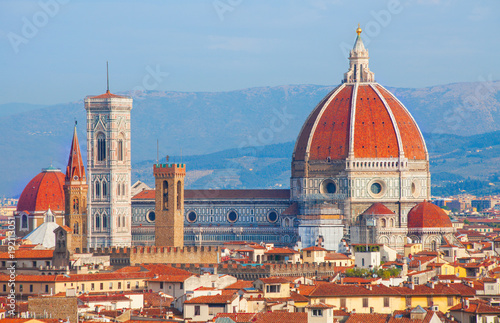 Foto op Canvas Florence Florence cathedral Duomo
