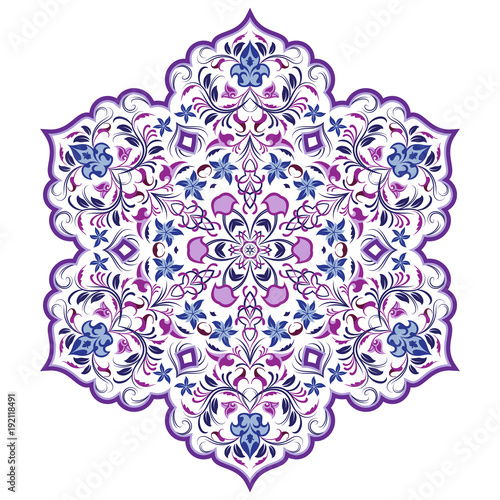 wektor-element-dekoracyjny-w-stylu-orientalnym-bogato-zdobiona-ornamentem-arabeskowym-do-projektowania-kartek-okolicznosciowych-zaproszen-i-stron-internetowych-arabski-wzor-w-kolorach-fioletowym-i-niebieskim