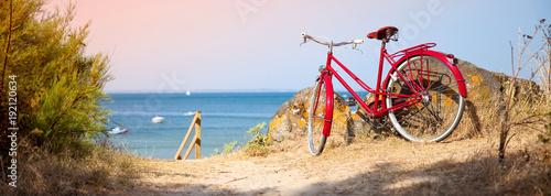 Vélo sur le littoral Français - 192120634