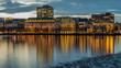 die schöne Binnenalster in Hamburg
