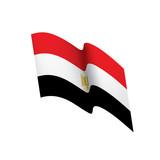Egypt flag, vector illustration - 192126874