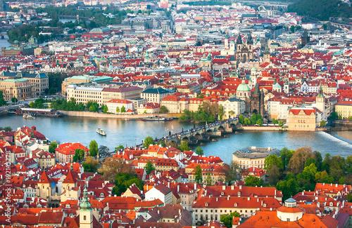 Foto op Aluminium Praag Prague is the capital of the Czech Republic, the European state. Historical sights.