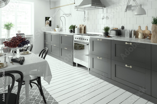 Modern Kitchen Arrangement