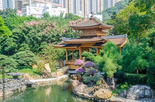 Keuken foto achterwand Olijf Absolute perfection in Nan Lian Garden, Chi Lin Nunnery, Hong Kong