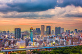 Osaka, Japan Skyline over Shinsekai. - 192165825
