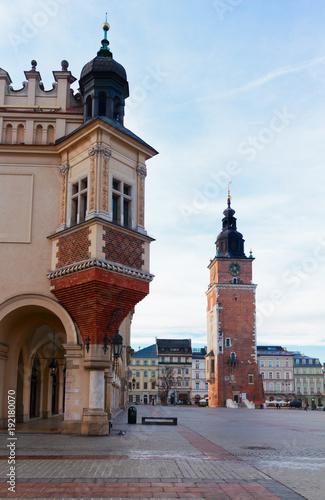 Market square in Krakow, Poland © neirfy