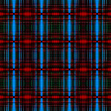 Blue and red grid pattern - 192182279