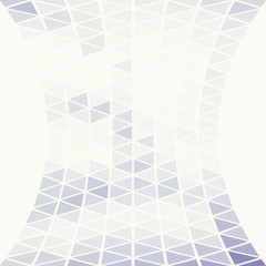 Subtle pattern with transparent triangles. Vector background