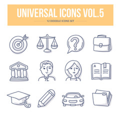 Universal Doodle Icons vol.5