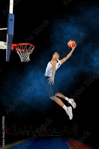 Aluminium Basketbal Basketball player in action