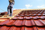Tiling a roof - 192205419