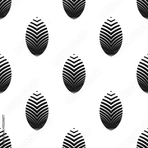 Geometric seamless pattern. Vector abstract background.