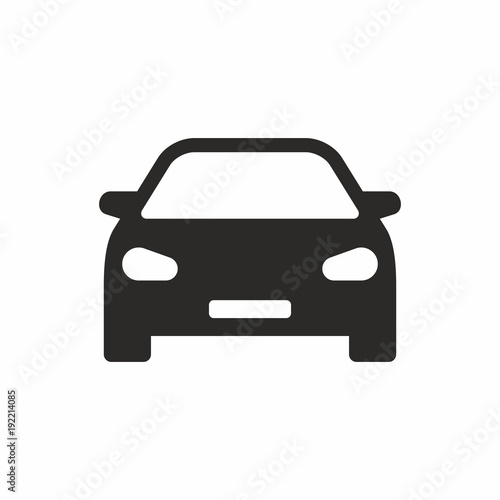 Wall mural Car icon