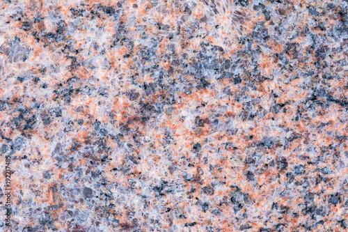 Fototapeta Granite, basalt or marble stone crystal texture