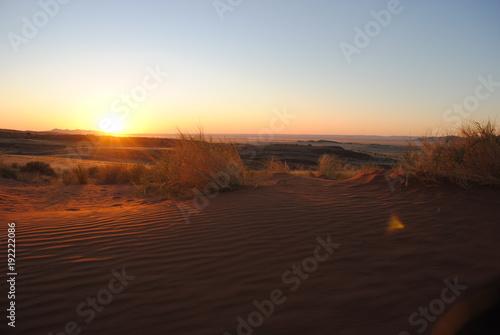 Papiers peints Morning Glory Sonnenuntergang über Namibia