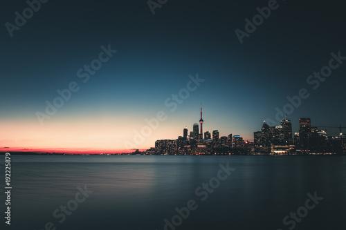 Foto op Plexiglas Toronto sunset toronto
