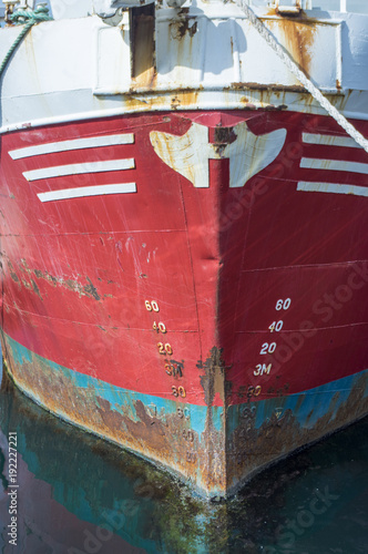 Aluminium Schip Détail de bateau
