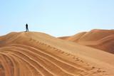 The man in Huacachina desert dunes - 192229694