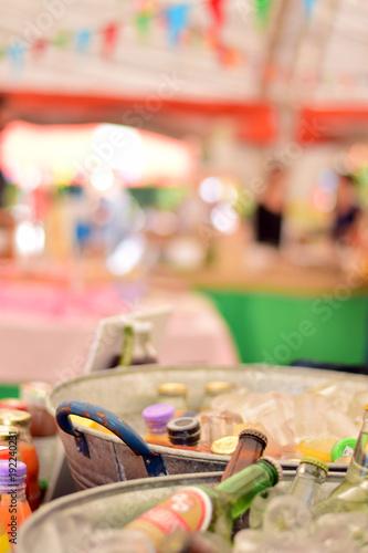 summer sales at a fair