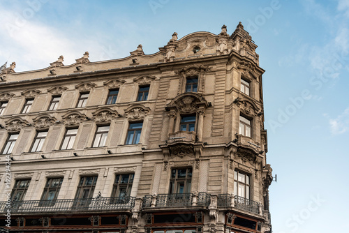 Fotobehang Boedapest view of historic architectural in Budapest, Hungary, Europe