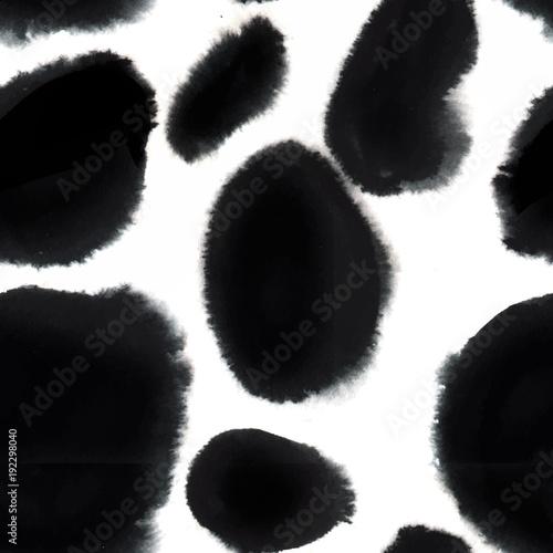 Watercolour brush strokes, seamless pattern - 192298040