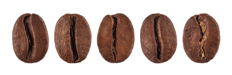 coffee bean isolated on white background, nature © Warakorn