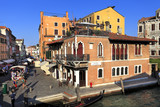 Venice historic city center, Veneto rigion, Italy - streets, tenements and canals of the Sestiere Canaregio district - 192314067