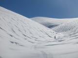 Randonneur en ski de randonnée dans la montagne - 192326036