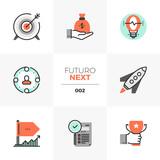 Company Startup Futuro Next Icons - 192327875