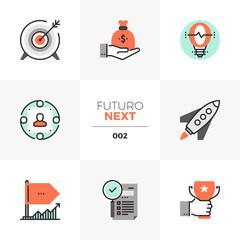 Company Startup Futuro Next Icons