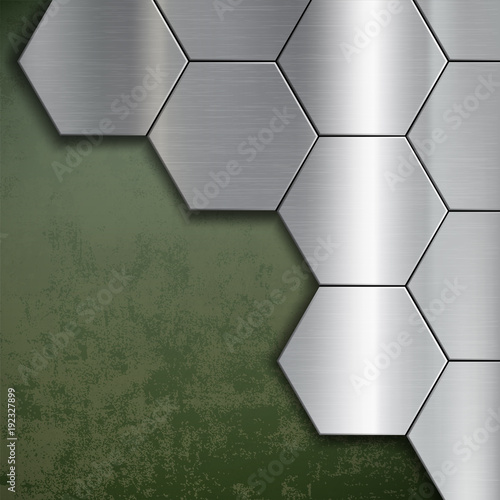 Industrial steel background