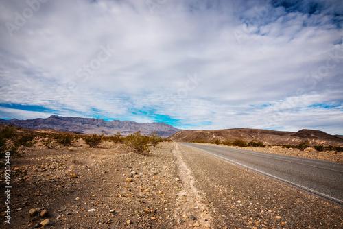 Canvas Route 66 route dans le désert