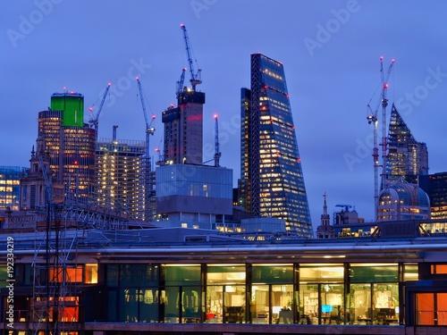 Keuken foto achterwand Londen London Skyline