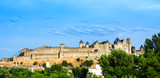 Beautiful view of old town of Carcassone in France - 192337090