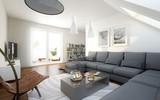 Dachgeschoss Wohnzimmer - 192349433