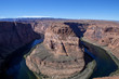 The majestic Horseshoe Bend in Page Arizona